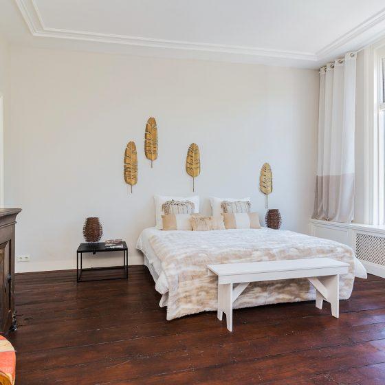 Slaapkamer na inrichting Den Haag