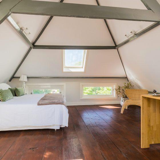 Zolderkamer na inrichting Den Haag