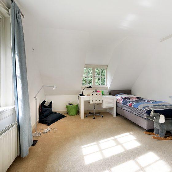 Inrichting slaapkamer voor woningpresentatie Naarden