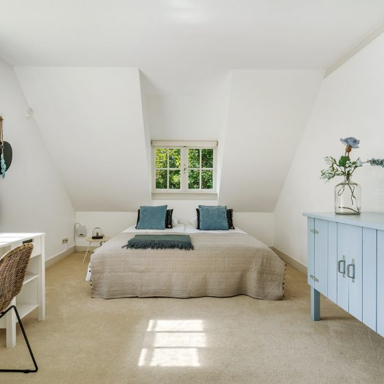 Inrichting slaapkamer na woningpresentatie Naarden