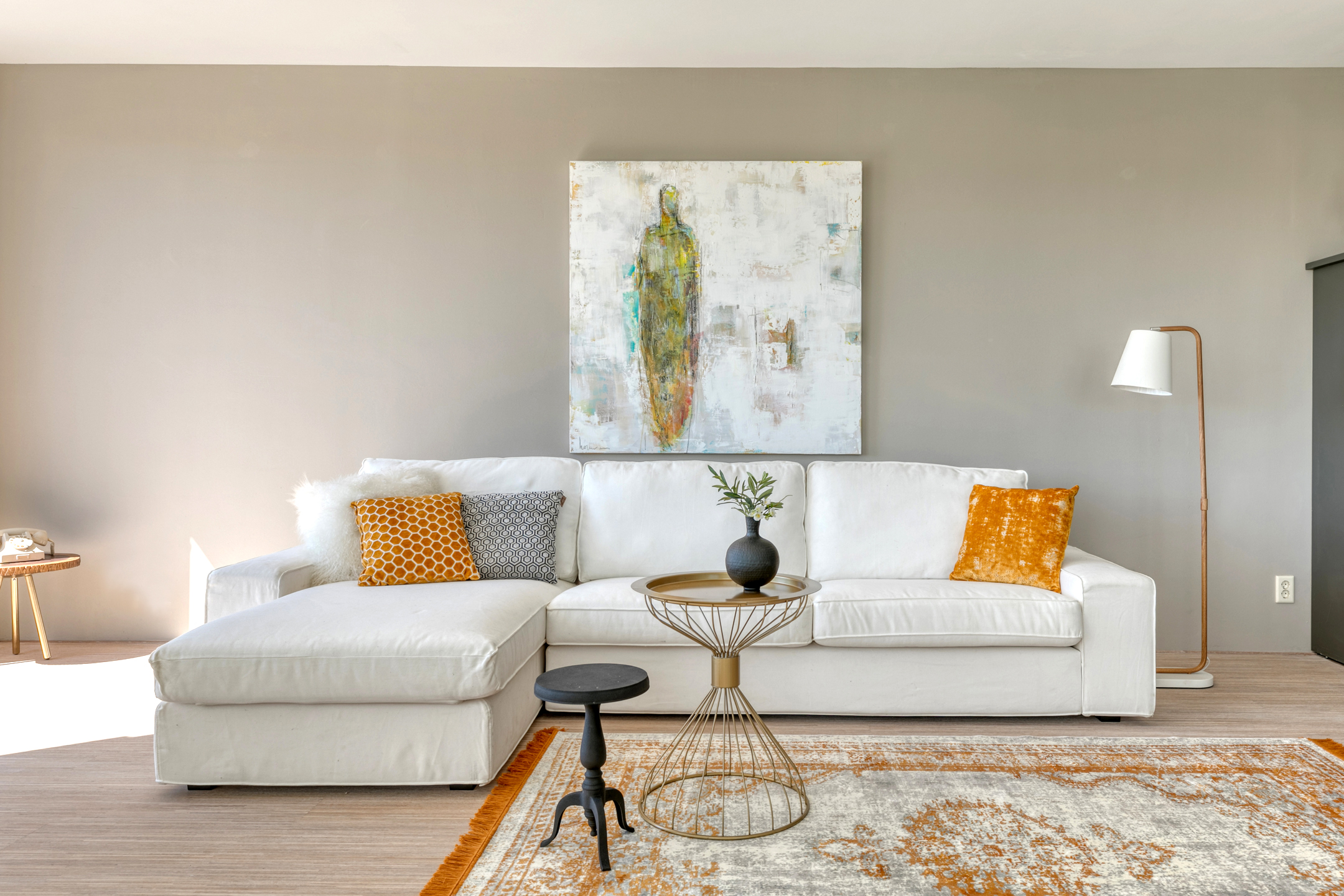 Inrichten leegstaand appartement, penthouse voor verkoop met huurmeubelen Amersfoort